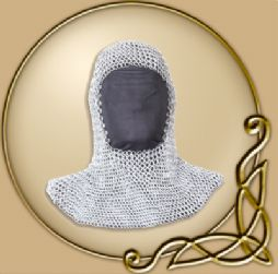 LARP Richard Chain Coif 9mm